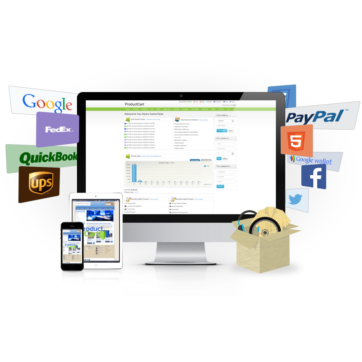 fe096f2bac Build a professional online store with our outstanding shopping carts for  start-up and enterprise-level commerce