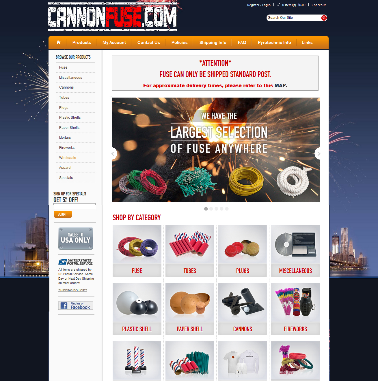 Cannon Fuse Featured ProductCart Site