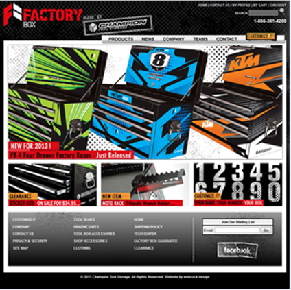 Factory Box Featured ProductCart Site