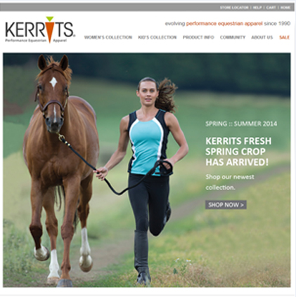 Kerrits Featured ProductCart Site