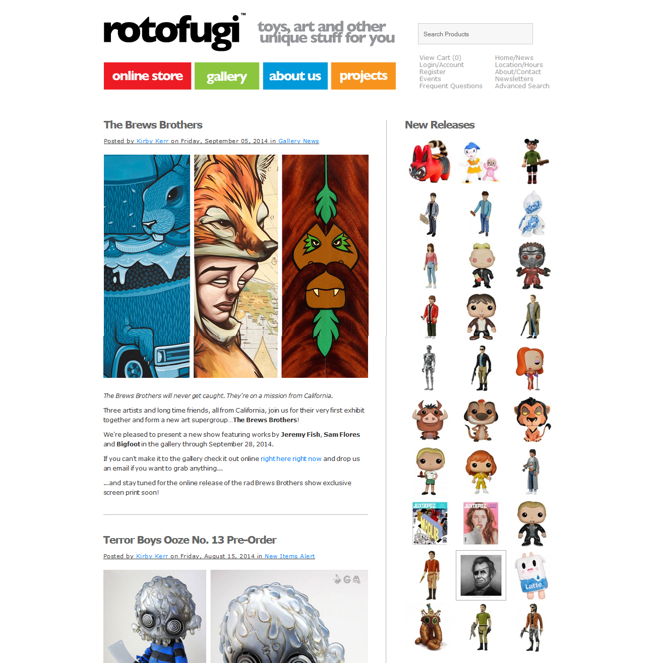 Rotofugi Featured ProductCart Site