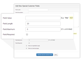 Customize Check-out and Shipping Modules