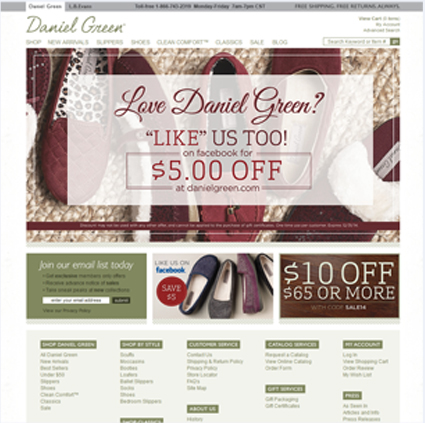 Daniel Green Featured ProductCart Site