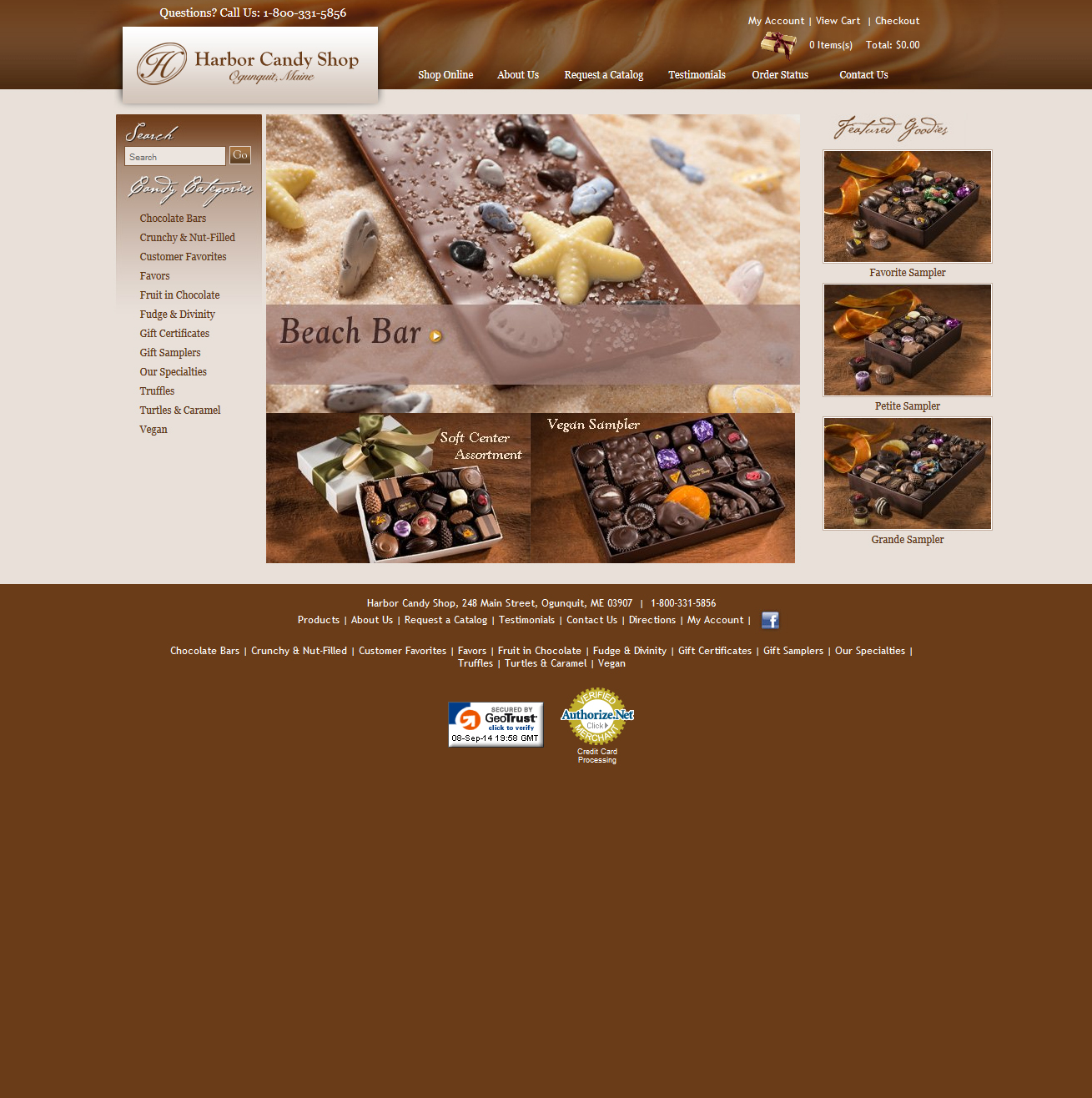 Harbor Candy Featured ProductCart Site