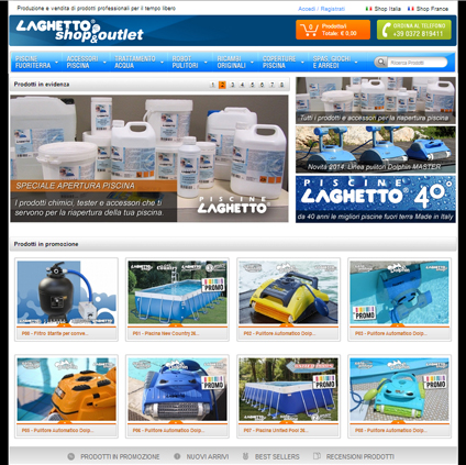Laghetto Shop Featured ProductCart Site