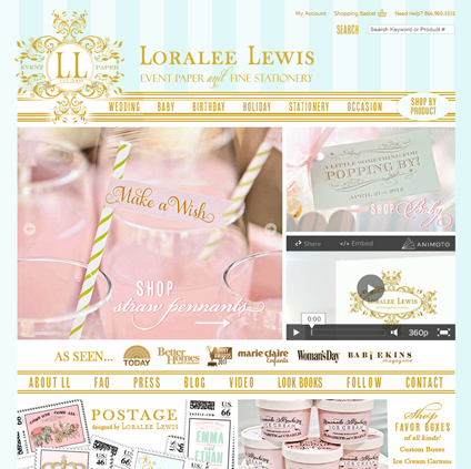 Loralee Lewis Featured ProductCart Site